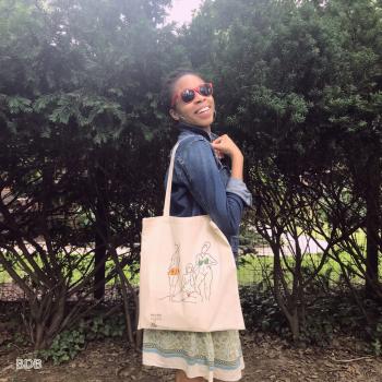 Mude Threads - Tote Bags - Fashion